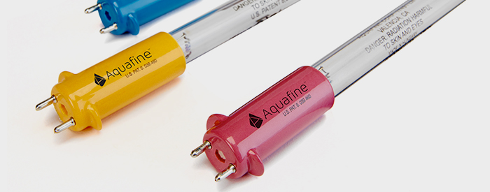 Get Genuine Aquafine UV replacement lamps